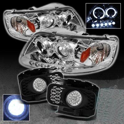 Ford F150 19972003 Harley Davidson Style Euro Headlights Set