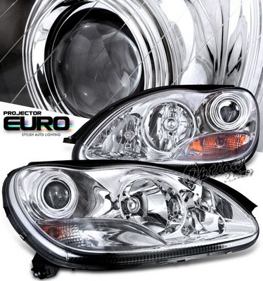 Mercedes Benz S Class 2000-2006 Clear Projector Headlights