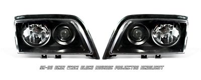 Mercedes Benz C Class 1995-2000 Black Projector Headlights