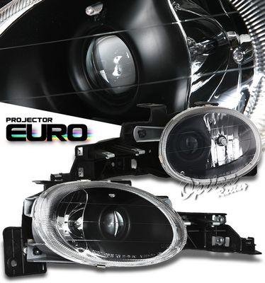 Dodge Neon 1995-1999 Black Projector Headlights