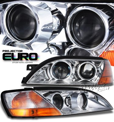 Lexus ES300 1992-1996 Clear Projector Headlights