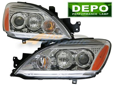 Mitsubishi Lancer 2004-2007 Depo Clear Projector Headlights