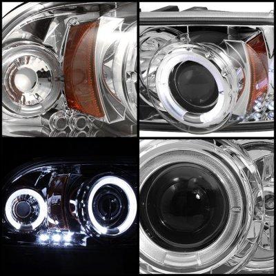 Dodge Durango 1998-2003 Clear Projector Headlights