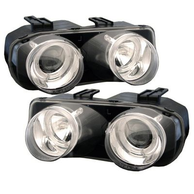 Acura Integra 1998-2001 Clear Halo Projector Headlights