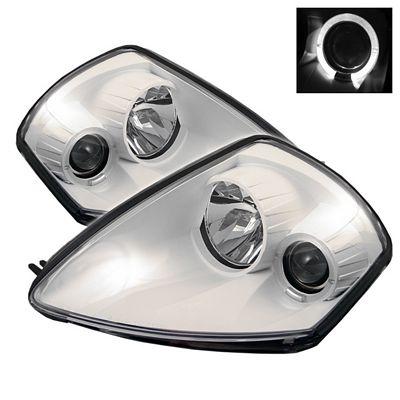 Mitsubishi Eclipse 2000-2005 White Halo Projector Headlights