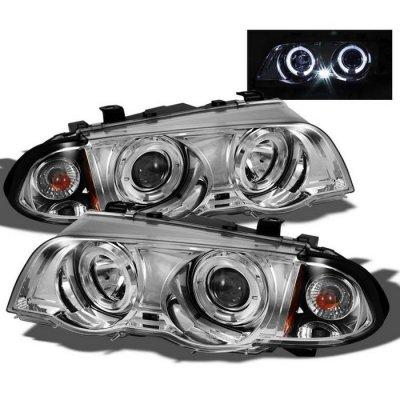 BMW 3 Series Sedan 1999-2001 Clear Halo Projector Headlights