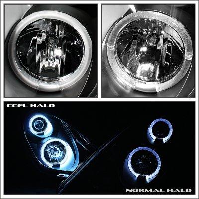 2006 Dodge Ram Halo Headlights Dodge Ram 2006-2008 Clear