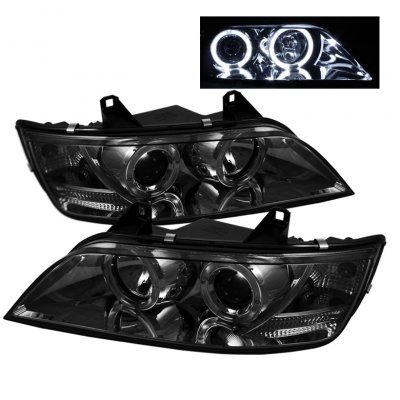 BMW Z3 1996-2002 Smoked Dual Halo Projector Headlights