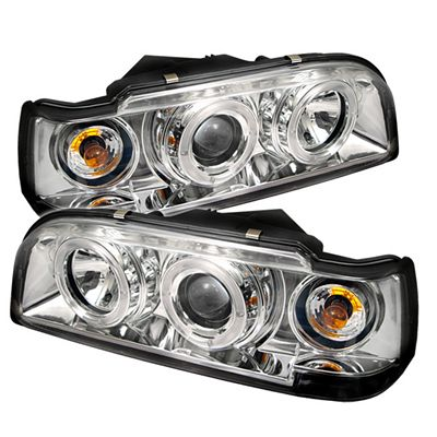 Volvo 850 1993-1997 Clear Dual Halo Projector Headlights