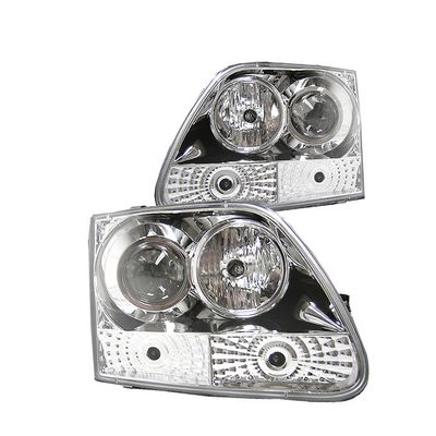Ford F150 1997-2003 Clear Projector Headlights