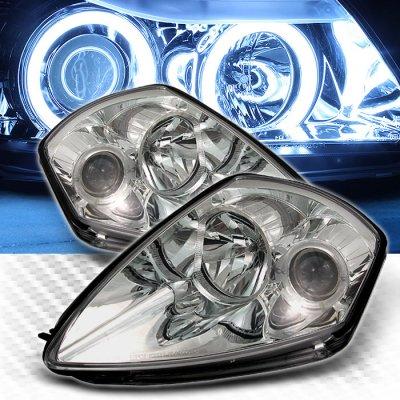 Mitsubishi Eclipse 2000-2005 Clear Halo Projector Headlights