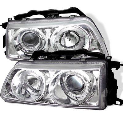Honda CRX 1990-1991 Clear Halo Projector Headlights