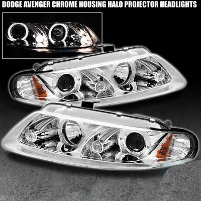 Chrysler Sebring Coupe 1997 2000 Clear Projector Headlights A103pf90101 Topgearautosport