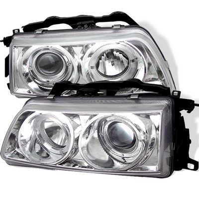 Honda CRX 1988-1989 Clear Halo Projector Headlights
