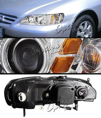 Honad Accord 1998-2002 TYC Clear Projector Headlights