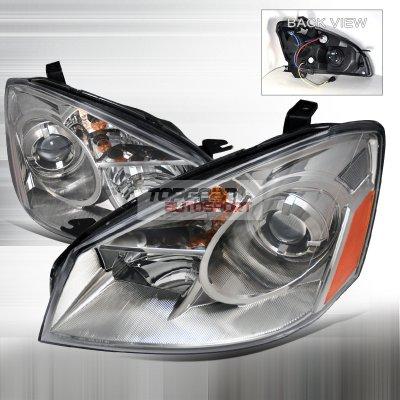 Nissan Altima 2005-2006 Clear Projector Headlights