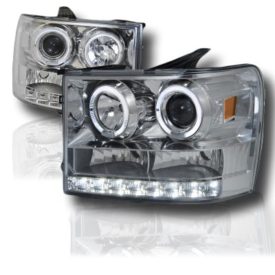 O Hi on 2011 Gmc Sierra Halo Headlights