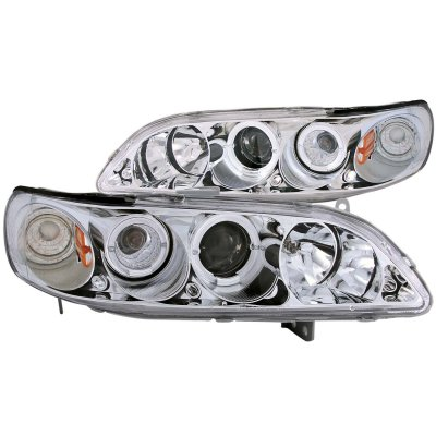 Honda Accord 1998-2002 Projector Headlights Chrome CCFL Halo
