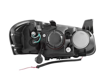 Nissan Maxima 2000-2001 Black Projector Headlights Halo