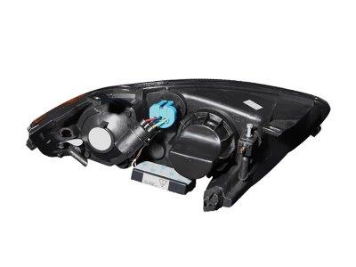 Chevy Cavalier 2003-2005 Black Projector Headlights CCFL Halo