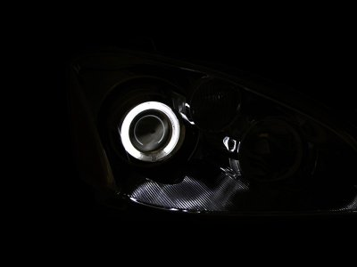 Nissan Altima 2002-2004 Clear Projector Headlights CCFL Halo