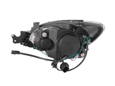 Mitsubishi Lancer 2004-2006 Projector Headlights Chrome CCFL Halo