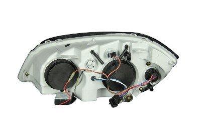 Chevy Cobalt 2005-2010 Projector Headlights Chrome CCFL Halo LED