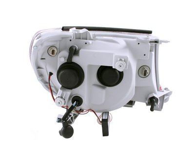 Toyota Tacoma 2005-2011 Black Projector Headlights CCFL Halo LED