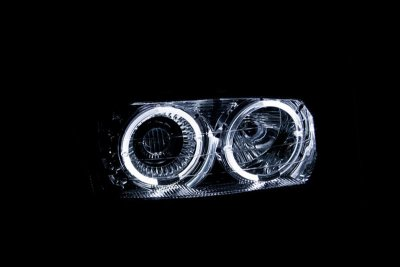 2005 gmc sierra 2500hd clear projector headlights with. Black Bedroom Furniture Sets. Home Design Ideas