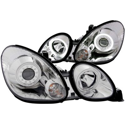 Lexus GS400 1998-2005 Clear Projector Headlights CCFL Halo