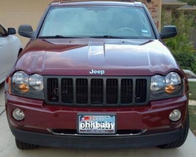 Jeep Grand Cherokee 2005 2007 Black Euro Headlights Customer Photo