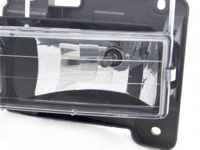 Chevy Suburban 1994-1999 Black Euro Headlights