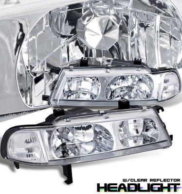 Honda Prelude 1992-1996 Clear Headlights and Corner Lights
