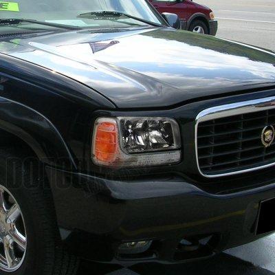 Cadillac Escalade 1999-2000 Smoked Euro Headlights