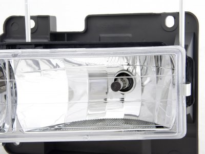 Chevy 1500 Pickup 1988-1998 Clear Euro Headlights