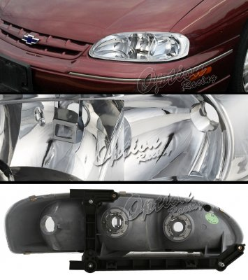 Chevy Monte Carlo 1995-1999 Clear Euro Headlights