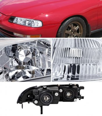 Honda Prelude 1992-1996 Clear Headlights and Corner Lights