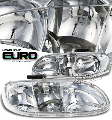 Chevy Lumina 1995-2001 Clear Euro Headlights