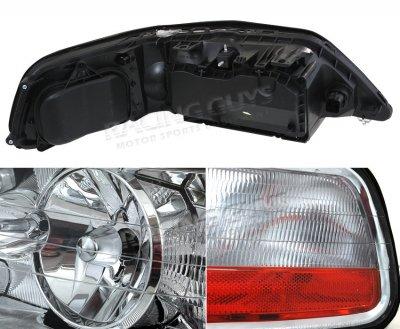 Lincoln Town Car 2003 2004 Clear Euro Headlights A10146me102