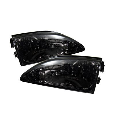 Ford Mustang 1994-1998 Smoked Euro Headlights