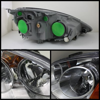 2004 Acura  on Acura Rsx 2002 2004 Clear Euro Headlights   A103xaoh102