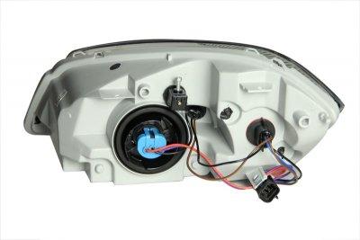 Chevy Cobalt 2005-2012 Black Euro Headlights