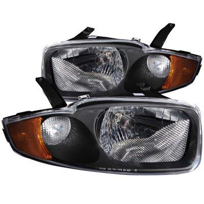 Chevy Cavalier 2003 2005 Black Euro Headlights A117fnps102 Topgearautosport