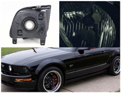 2005 Ford Mustang Smoked Euro Headlights