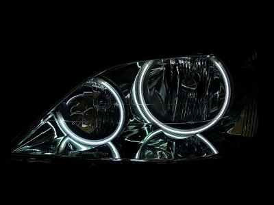 Lexus RX300 2001-2003 CCFL Halo Headlights Chrome