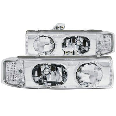 Chevy Astro 1995-2005 Chrome Euro Headlights