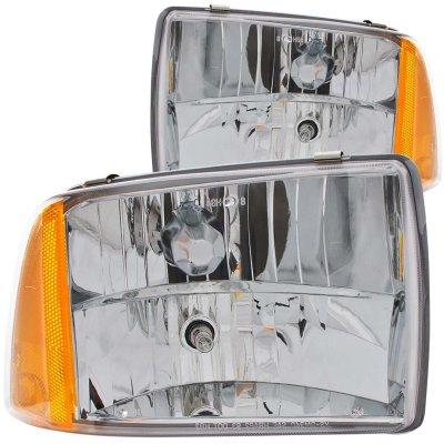 Chevy Blazer 1995-1997 Clear Euro Headlights
