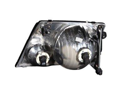 Ford Explorer 2002-2005 Crystal Headlights Black