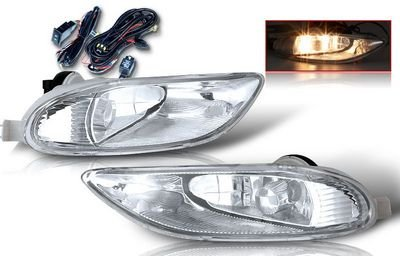 Toyota Camry 2002-2004 Clear Fog Lights Kit