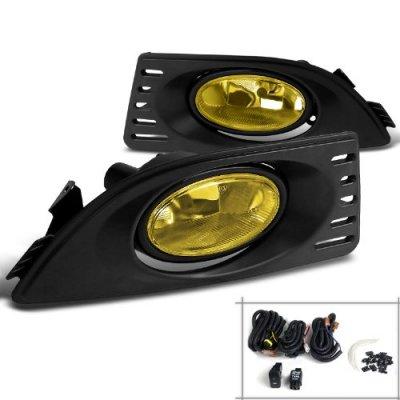 Acura RSX 2005-2007 Yellow Fog Lights Kit